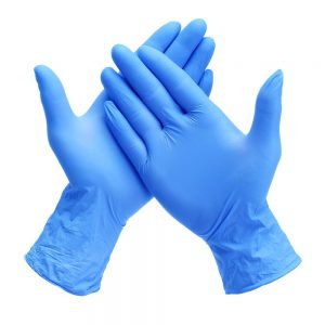 Nitrile PF Gloves (100 Pieces) Large