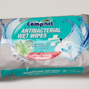 Antibacterial Wipes Packs 1000 (£1.45 Per Pack 40)