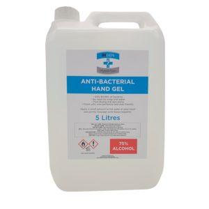Ingen Hand Sanitiser 5 Pack 5L  (75% Alcohol) (£22.50)