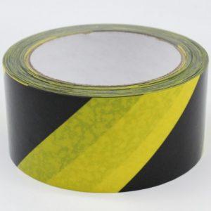 Black Yellow Floor Tape 33m