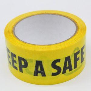 Yellow Floor Tape 33m