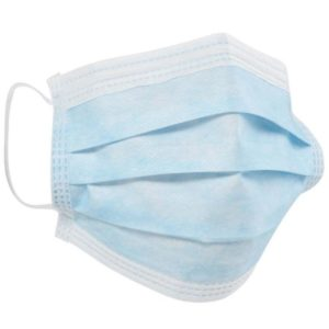Disposable Type IIR Certified 3 Ply Fluid Resistant Protective Face Masks, EN14683 – 50 Boxs – 2500 Masks (£14.50 Box Of 50)