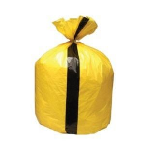 TIGER CLINICAL WASTE SACKS – 80 LITRE CAPACITY – PACK OF 25
