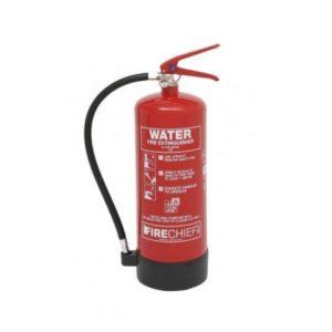 6 LITRE SPRAY WATER FIRE EXTINGUISHER